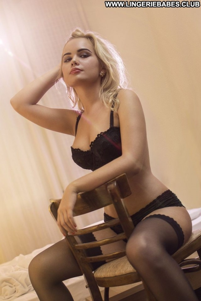 Cathleen Photoshoot Fitness Slim Blonde Stunning Lingerie Pretty Doll