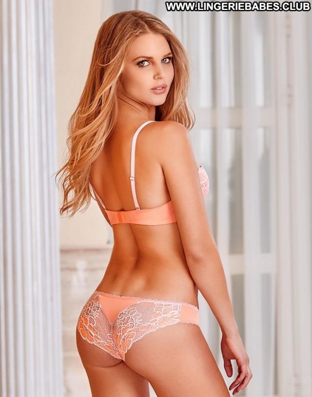 Allison Photoshoot Blonde Bombshell Lingerie Athletic Hot Cute