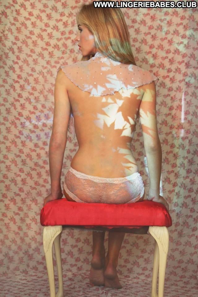 Jillian Photoshoot Fitness Blonde Lingerie Posing Hot Slim Sexy