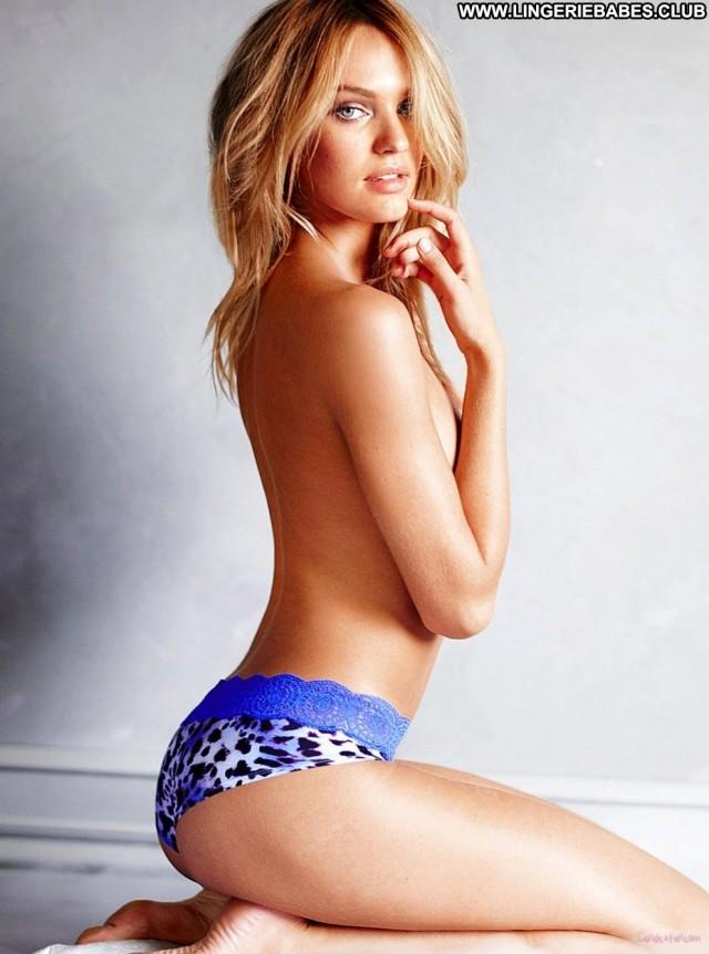 Garnett Photoshoot Slim Blonde Pretty Sensual Lingerie Perfect