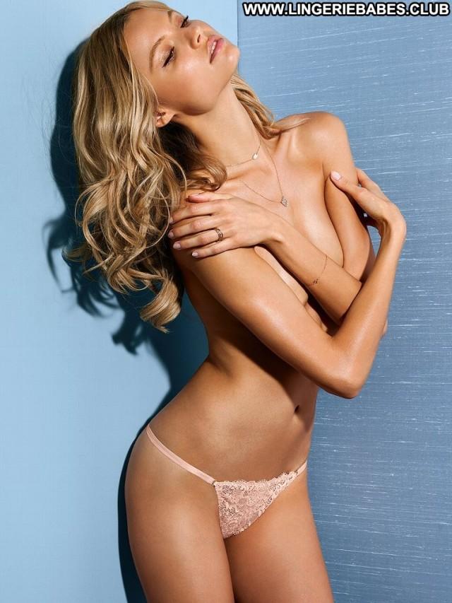 Tory Photoshoot Sultry Blonde Athletic Posing Hot Slender Lingerie