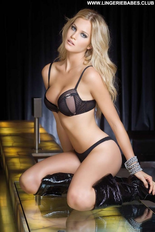 Lorraine Photoshoot Cute Glamour Blonde Posing Hot Stunning Lingerie