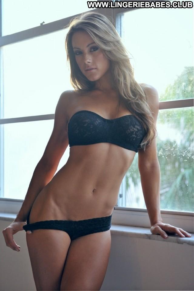 Joella Photoshoot Gorgeous Teasing Model Lingerie Blonde Fitness Nice