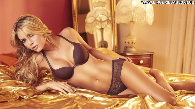 Mercedes Photoshoot Blonde Lingerie Posing Hot Sexy Slender Stunning