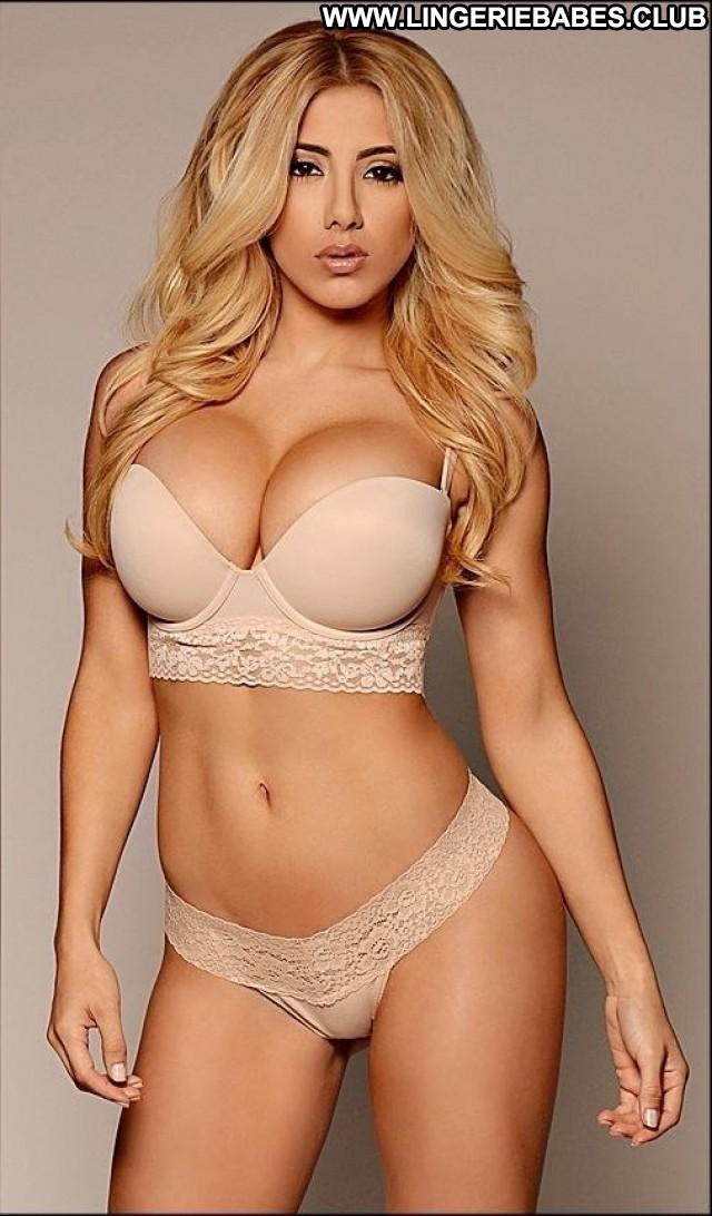 Dalene Photoshoot Model Blonde Beautiful Stunning Hot Lingerie Healthy