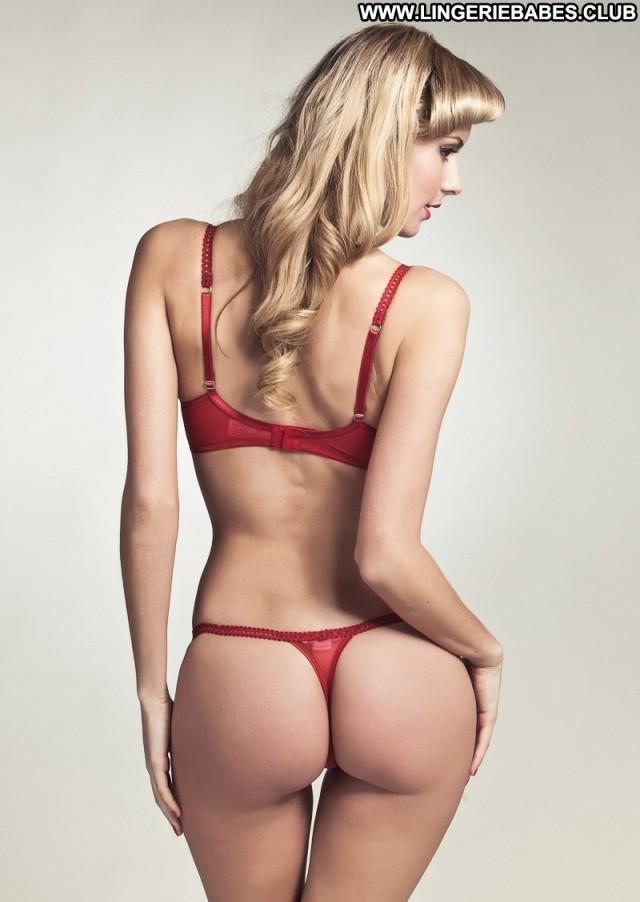 Ambrosine Photoshoot Blonde Healthy Stunning Lingerie Fitness Pretty
