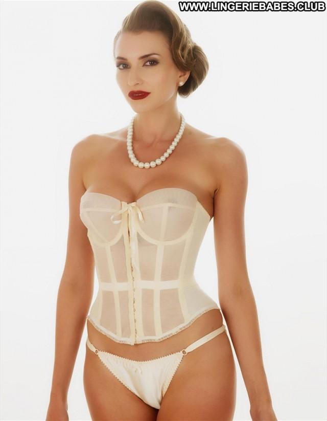 Letty Photoshoot Lingerie Sensual Slender Bombshell Model Blonde Hot