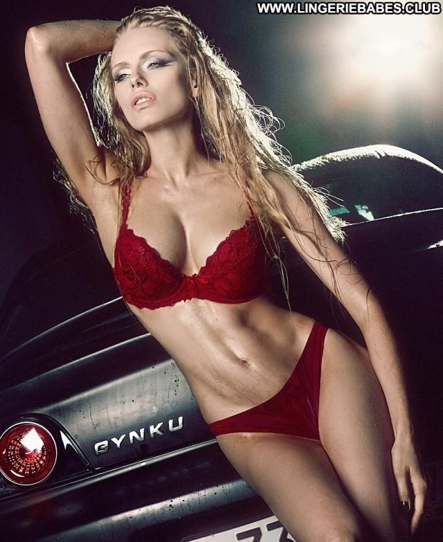Anette Photoshoot Blonde Lingerie Posing Hot Pretty Sensual Bombshell