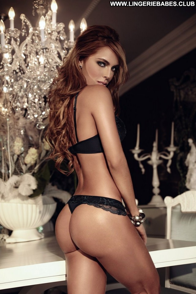 Leona Photoshoot Lingerie Beautiful Brown Hair Chick Glamour Doll