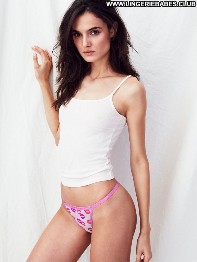 Maisie Photoshoot Doll Cute Brown Hair Slender Sultry Lingerie Fitness