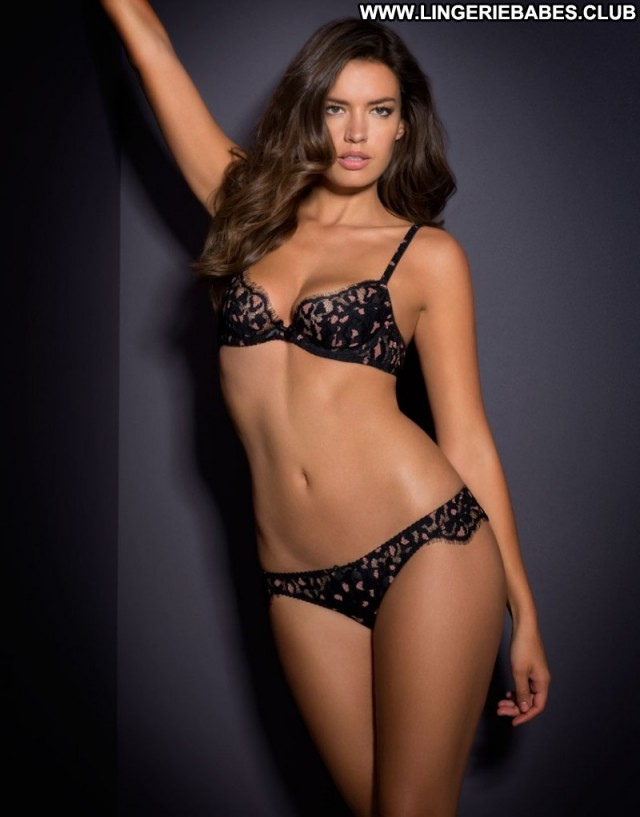 Maisie Photoshoot Brown Hair Doll Sultry Lingerie Slender Fitness Cute