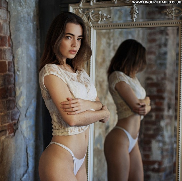 Lorie Photoshoot Perfect Slender Chick Lingerie Healthy Brown Hair
