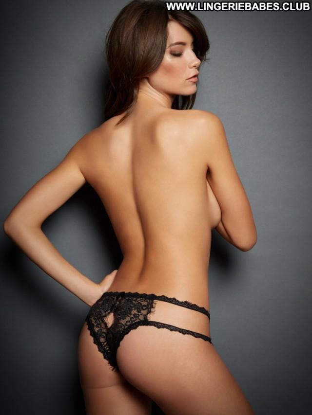 Anjelica Photoshoot Brunette Gorgeous Lingerie Slim Bombshell Pretty
